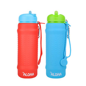 Collapsible Water Bottle BPA Free FDA Approved