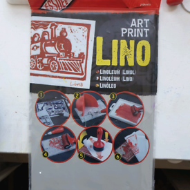BRAND NEW UNOPENED A4 lino sheets 2pk