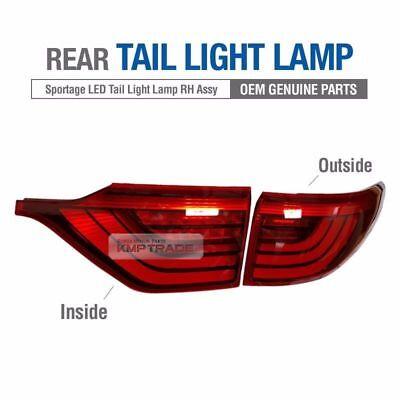 OEM Parts Rear Tail Light Lamp Assy LH RH 4EA for KIA 2017-2018 Sportage QL