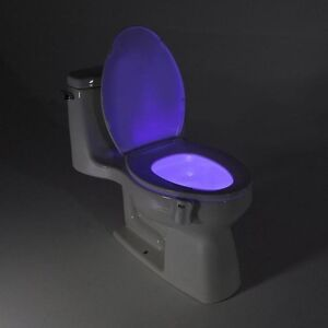8 colors Body Motion Sensor LED Toilet Light - Motion Activated London Ontario image 1