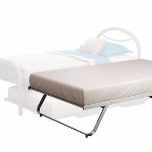 Amisco White Metal Contemporary bed frame London Ontario image 1
