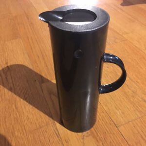 STELTON Black Water Pitcher / Coffee Carafe! Denmark Designer