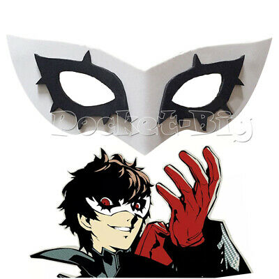 Biamoxer Persona 5 Joker Mask Cosplay Eva Mask Halloween Party Role Play Prop](Fun Halloween Party)