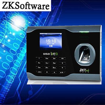 Zksoftware U160 Fingerprint Attendance Time Clock Recorder Support Tcpip Wifi