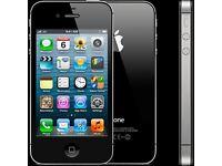 iPhone 4s unlock - 8GB - Black/white (Factory Unlocked) smartphone