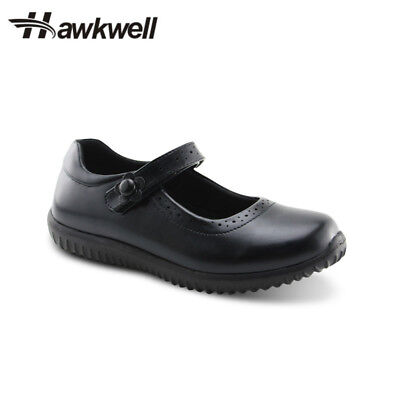 Girls Mary Jane Flat School Uniform Shoes Black Dress Oxford Toddler Hawkwell