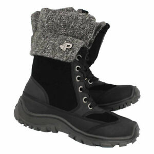 New Black Pajar Womans Boots size 8 - 8 1/2