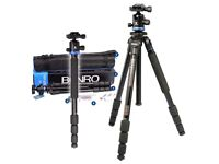 BENRO AF18+ Portable Aluminium Tripod For Camera (London Pick-up)