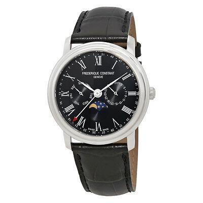 Frederique Constant Classics Black Dial Mens Multifunction Watch FC-270BR4P6