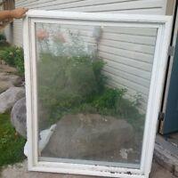 large vinyl window