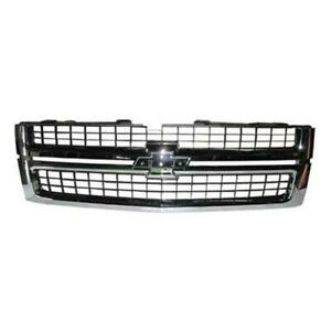 2007-2010 Chevrolet Pickup Chevy Silverado Grille - Best Value ®