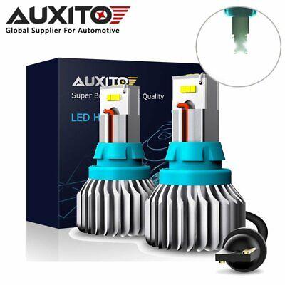 AUXITO 921 T15 912 CSP LED Reverse Backup Light Bulbs 6500K Cool White Canbus