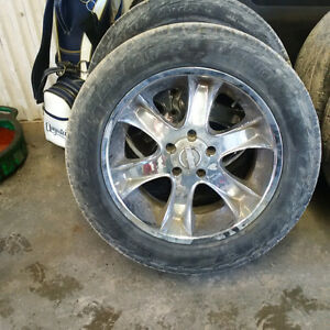 "20"" Rims and tires - REDUCED"