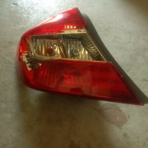 2012 Honda Civic rear driver side break light assembly