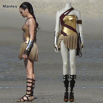 Justice League Wonder Girl Cosplay Diana Prince Costume Halloween Outfits Party