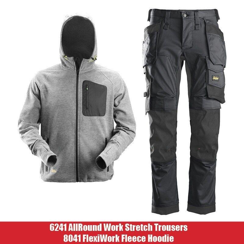 koko kokoelma uskomattomia hintoja nauhoittaa sisään Snickers Workwear 6241 AllroundWork Stretch Trousers Pockets + 8041  FlexiWork Fleece Hoodie Deal | in Belfast City Centre, Belfast | Gumtree