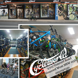 Cycleworld, Bike Sales, Bike Service and repair Concord West Canada Bay Area Preview