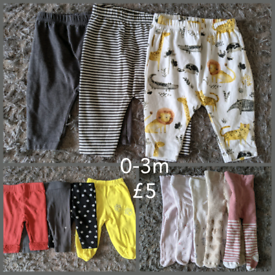 0-3m leggings/tights