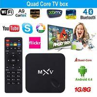 ANDROID, MXV,  Quad Cor,S805  TV Box 1080P 4.4,$69,99 SALE SALE