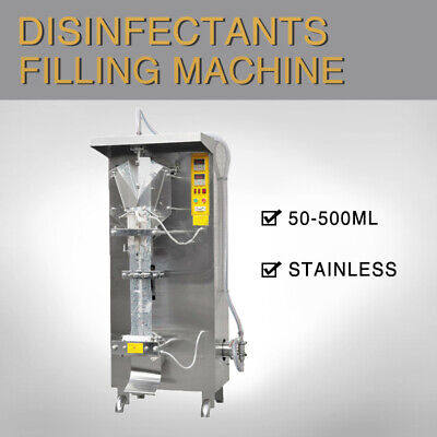 110V 50-500ml Automatic Sachet Disinfectants Filling Machine for 75% Alcohol for sale  Shipping to Nigeria