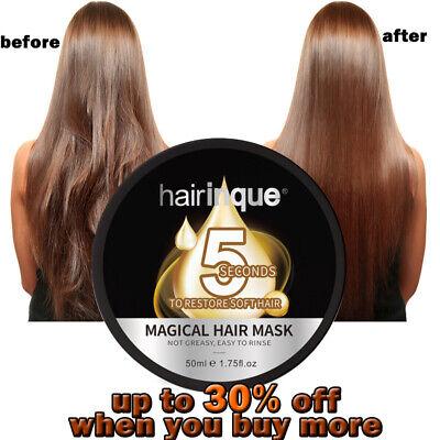 HAIRINQUE 5 Sec Restore Soft Shiny Hair Magical Treatment Hair Mask Repairments