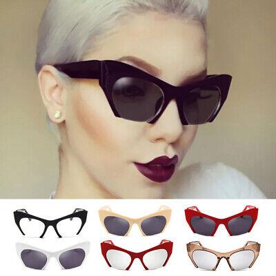 Cool Trendy Half Frame Cat Eye Sunglasses Fashion Clear Lens Sun Glasses (Half Frame Cat Eye Glasses)