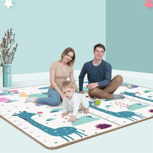 200*180cm*0.5cm Foldable Cartoon Baby Play Mat Xpe Puzzle Children