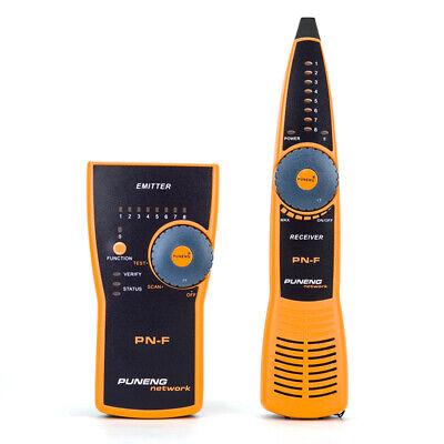 Pn-f Lan Cable Tester Rj11 Rj45 Identifier Toner Probe Wire Tracker Triax