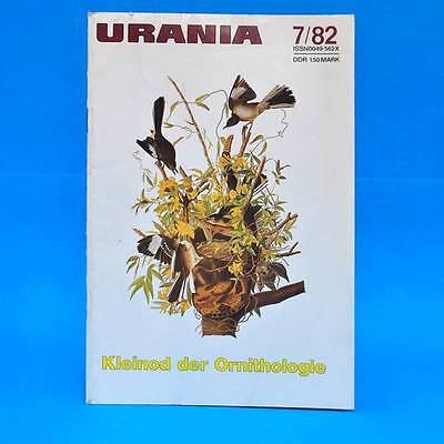 Urania 7-1982 DDR John Locke GST Furka-Oberalp-Bahn Riesenkänguruh Sturmmöwen C