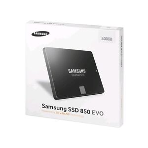 Brand New in Sealed Box Samsung 850 EVO 500GB SSD