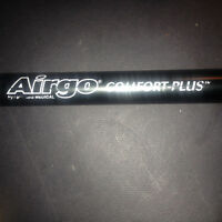 airgo comfort plus green collapsible walking  cane