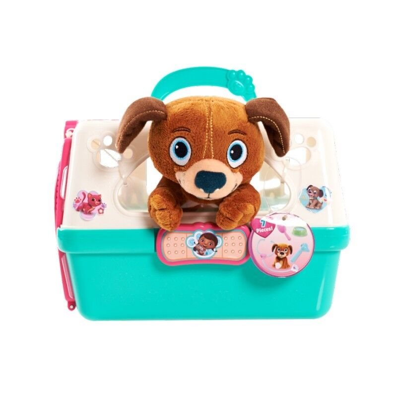 New Disney Junior Doc McStuffins Vets N' Pets Carrier - Find