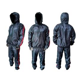 Heavy Duty Sauna Sweat Suit Exercise Suit Fitness Anti Ripped Suit