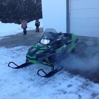 2002 Arctic Cat ZL 600 SS,  hardly Used,  Very Low Miles.