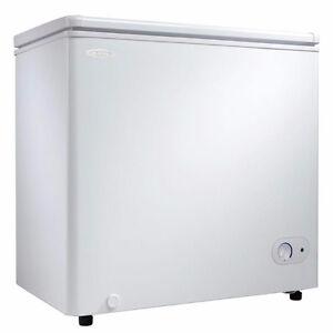 5.5 cu. ft. chest freezer - apartment size