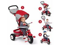 Radio Flyer Deluxe All Terrain Stroll 'n' Trike (9+ Months to 5 Years) BNIB