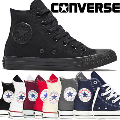 Unisex All Star Classic Color High Low Size Converse Taylor Trainers