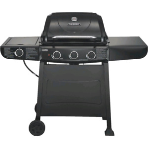 Thermos 3 burner propane grill with side burner