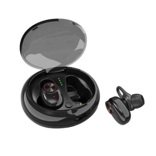 Mini True Wireless Bluetooth 5.0+EDR Twins Stereo In-Ear Headset Earphone Earbud