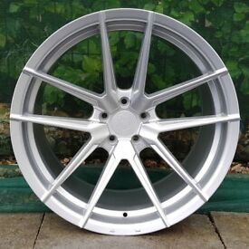"20"" Quantum44 SFF1 on tyres for an Audi A5, A6, A7 ETC"