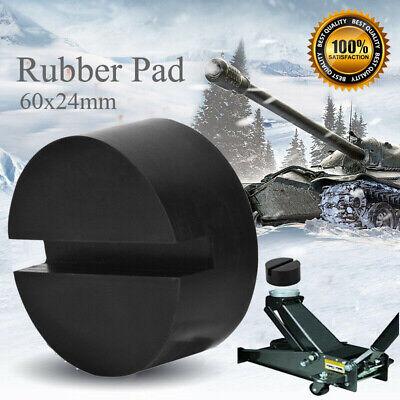 2pcs Rubber Pad Block Hydraulic Ramp Jacking Pads Trolley Jack Adapter Lifting