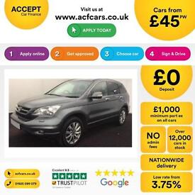 Honda CR-V 2.2i-DTEC 2010MY ES FROM £45 PER WEEK!