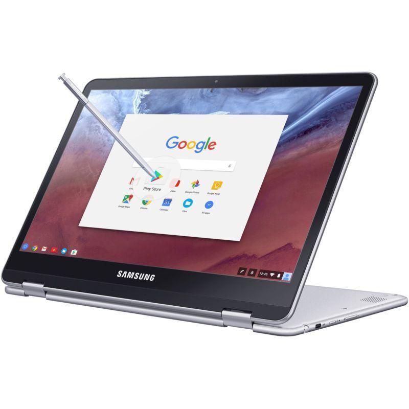 "Samsung Chromebook Pro XE510C24-K01US 12.3"" Touchscreen LCD Convertible - Silver"