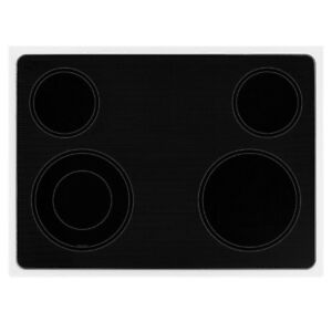 Whirlpool Accubake Stove Range Glass Top (Flat cook surface) 4 b