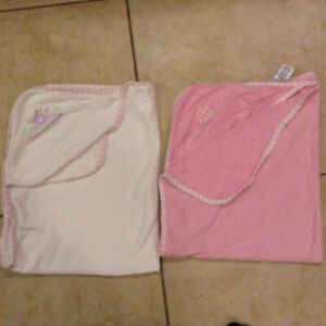 2 Baby Towels with Hoods