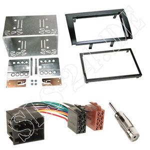 fiat bravo autoradio blende radiorahmen iso adapterkabel doppel 2 din einbauset. Black Bedroom Furniture Sets. Home Design Ideas
