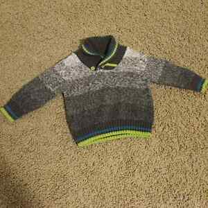 Gymboree Toddler Boy's sweater 12-18 months