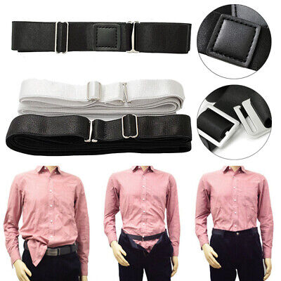 Men's Invisible Near Shirt-Stay Best Shirt Stays Tuck It Belt Shirt Tucked