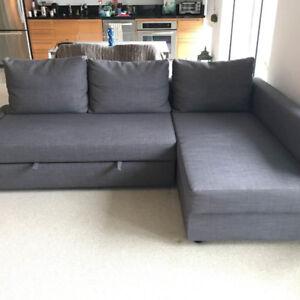 FRIHETEN Ikea Sofa Bed 1 year old - $450