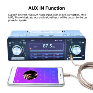 Car Stereo Receiver with Bluetooth FM and Radio in Dash/4.1inch